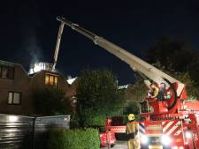 Schoorsteenbrand aan Datheenhoeve in Zoetermeer