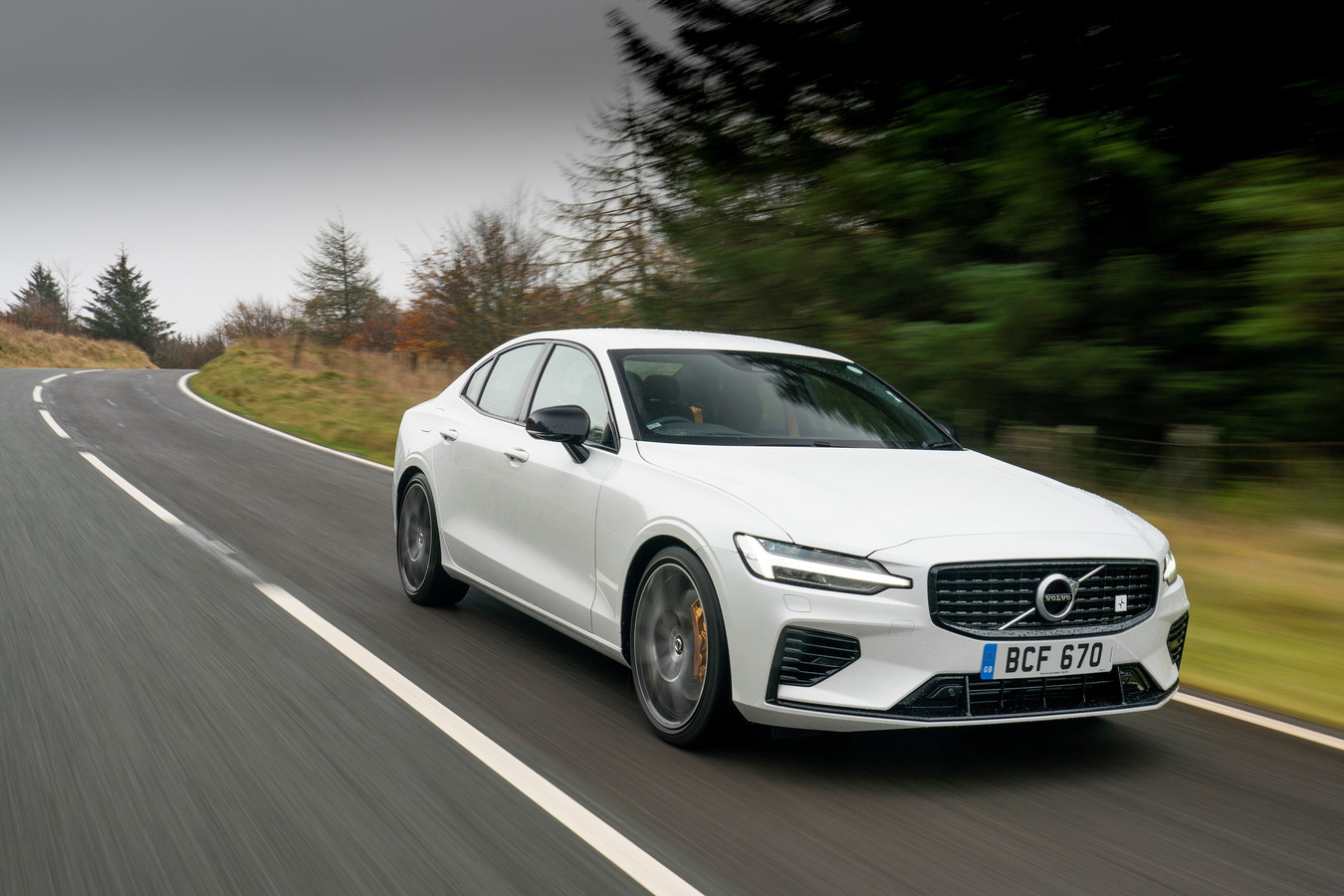 De Volvo S60 T8 Polestar Engineered