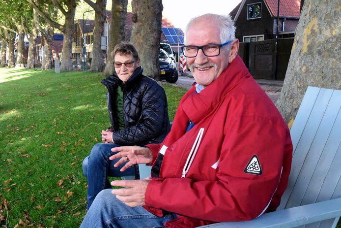 Herman van den Ham en Lucienne Bakker vonden elkaar weer terug via Marktplaats.