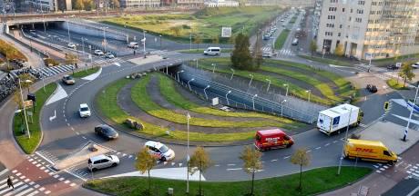 Grote rotonde bij het Eemplein wordt voor 23 miljoen euro een kruising met verkeerslichten
