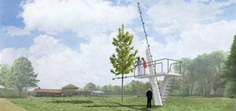 Kunstproject brengt duikplank terug in Roois park Kienehoef