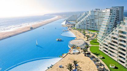 Duik in het grootste zwembad ter wereld