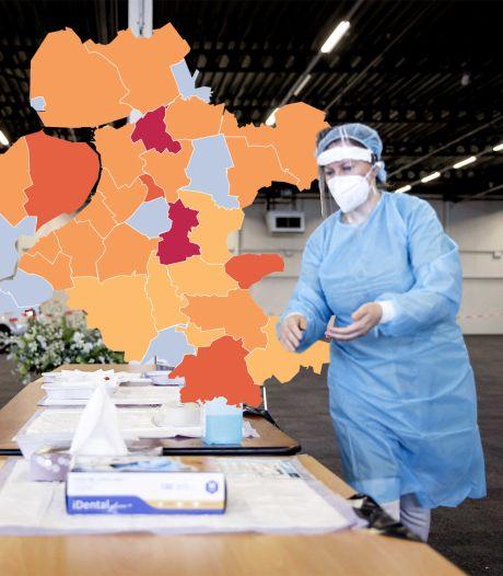 KAART | Coronavirus wint terrein in IJsselland: twee gemeenten vallen in negatieve zin op