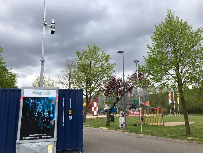 De mobiele camera's staan de komende maanden verspreid in Heldenland.