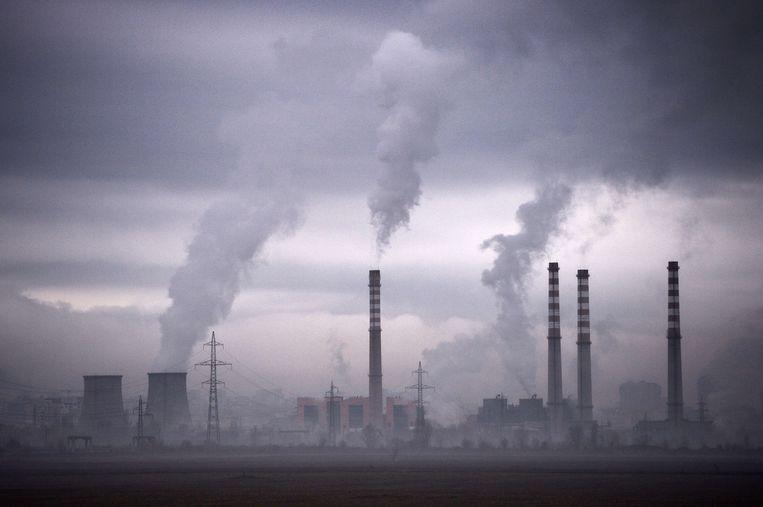 Een energiecentrale in Bulgarije. Beeld AFP