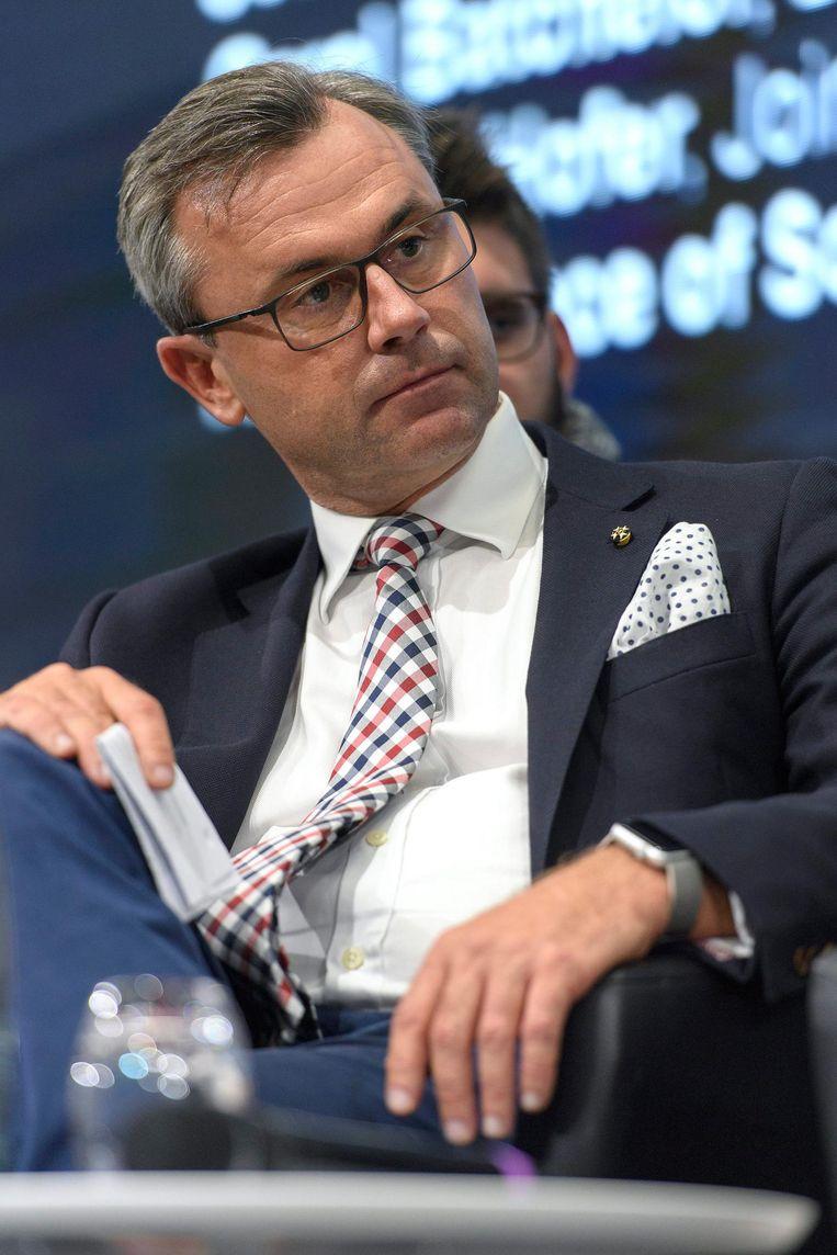Norbert Hofer, Oostenrijkse presidentskandidaat Beeld ANP