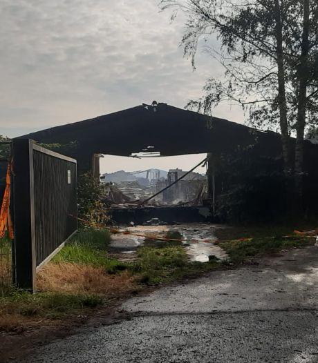Buren werden wakker van brand in grote loods Wouwse Plantage: 'Behoorlijk schrikken'