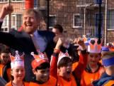 Koning en Koningin trappen Koningsspelen af