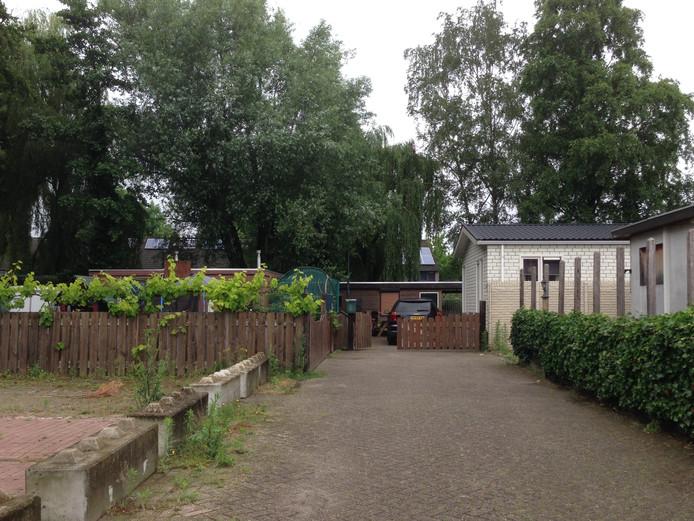 Het woonkampje Driesedam in Vught.