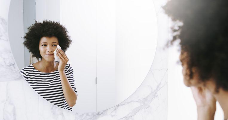 Moet je je gezicht reinigen als je geen make-up draagt? Beeld Getty Images