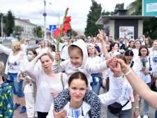 'KGB dwong presidentskandidaat Tichanovskaja uit Wit-Rusland te vertrekken'