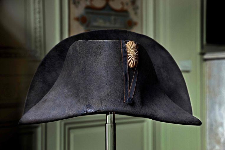 De beroemde steek van Napoleon. Beeld AFP