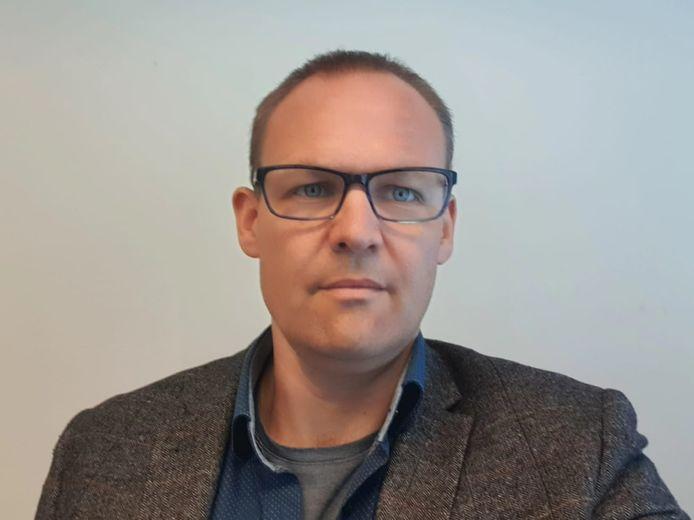 Directeur Jasper Ragetlie van de LEVgroep.