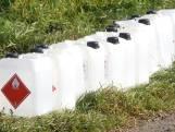 Zeker 80 jerrycans met chemisch afval gedumpt in omgeving van Oss