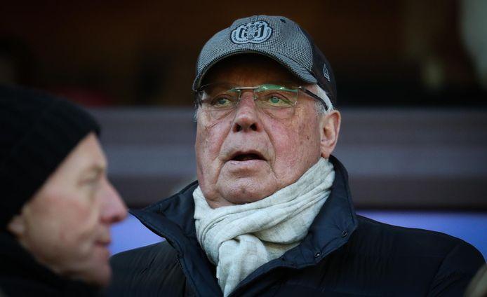 L'ancien président d'Anderlecht, Roger Vanden Stock.