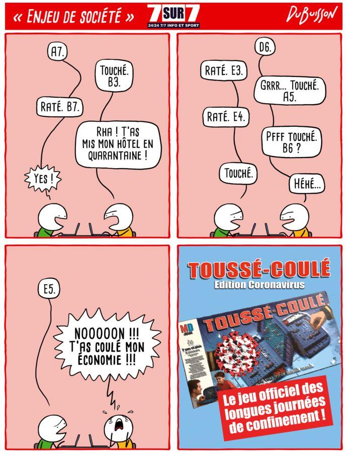 """""""Toussé-coulé""""."""