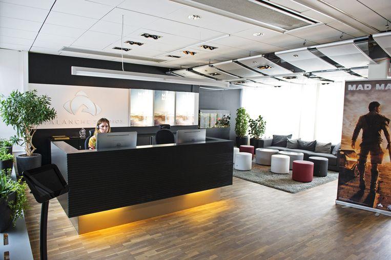 De kantoren van Avalanche Studios in Stockholm Beeld Avalanche Studios