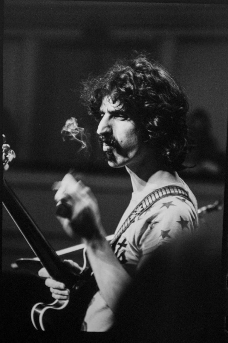 Frank Zappa verloor in 1993 de strijd tegen prostaatkanker. Hij werd net geen 53. Beeld Laenen