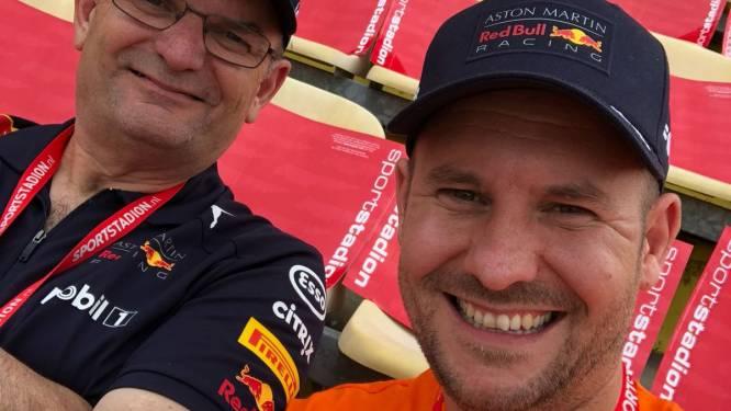 Fan Patrick (39) is erbij tijdens de Dutch Grand Prix: 'Superleuk om dit met mijn vader mee te maken'