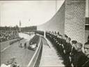 NSB partijdag Nationaal Socialistische Beweging bij de Muur van Mussert .