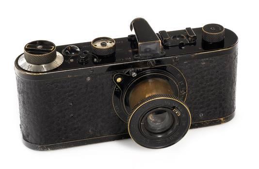 Leica nummer 107 uit 1923.