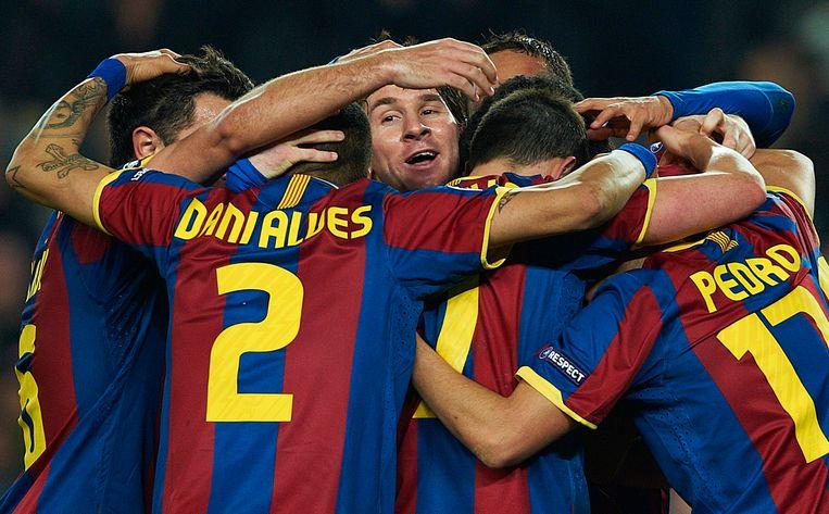 Lional Messi vertrekt na ruim twintig jaar bij FC Barcelona.  Beeld AP