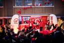 Qmusic kwam radiomaken in BuBaO De Schakelschool in Kuringen.