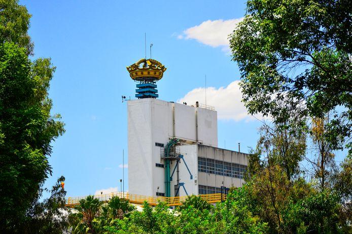 De Modelo brouwerij, producent van Corona bier, in Mexico City, is nog steeds gesloten.