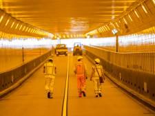 Maastunnel 's nachts dicht voor renovatie en onderhoud