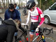Loes Sels de beste in Rucphen, Thalita de Jong met pech uit koers