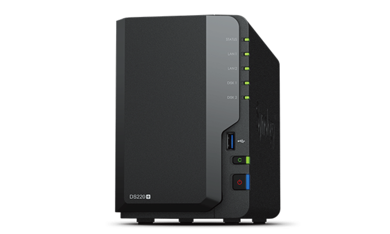 De Synology DS220+ Beeld Synology