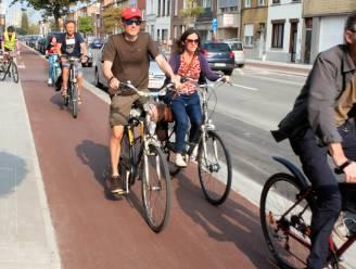 """Fietsersbond vol lof over nieuwe fietspaden Leuvensesteenweg: """"Voorbeeld voor vele andere exemplaren"""""""