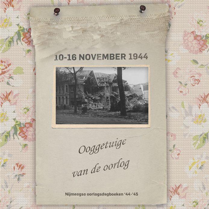 Hoek Berg en Dalseweg met Jacob Canisstraat, 1944.
