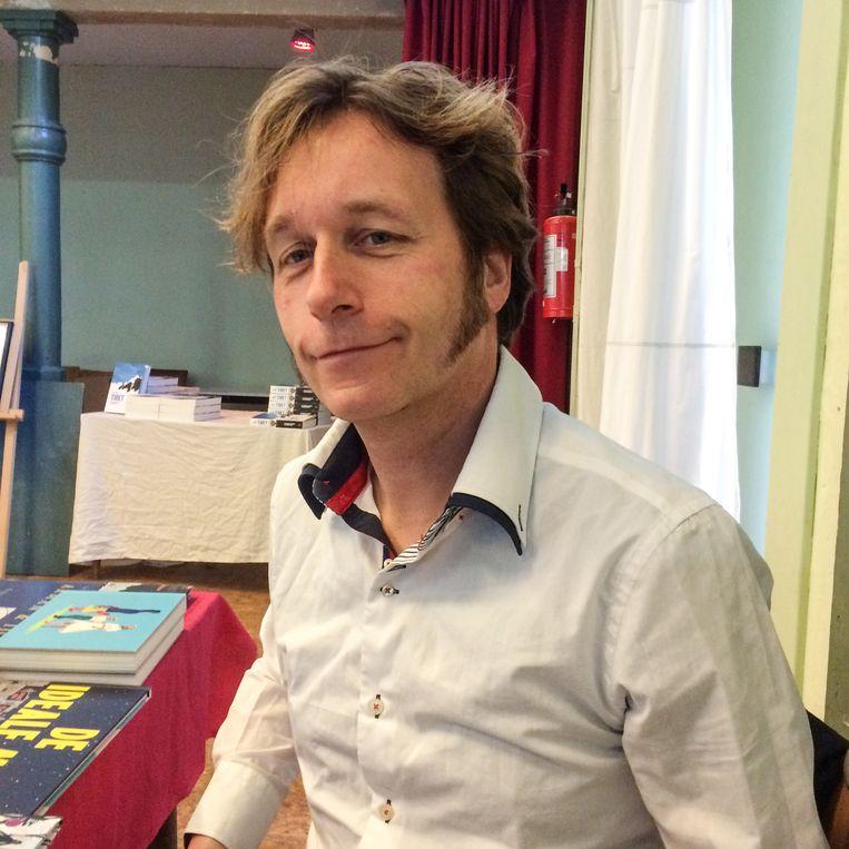 Tonio van Vugt: 'Via Bowie heb ik The Velvet Underground, Kurt Weil, Iggy Pop en ambient ontdekt.' Beeld