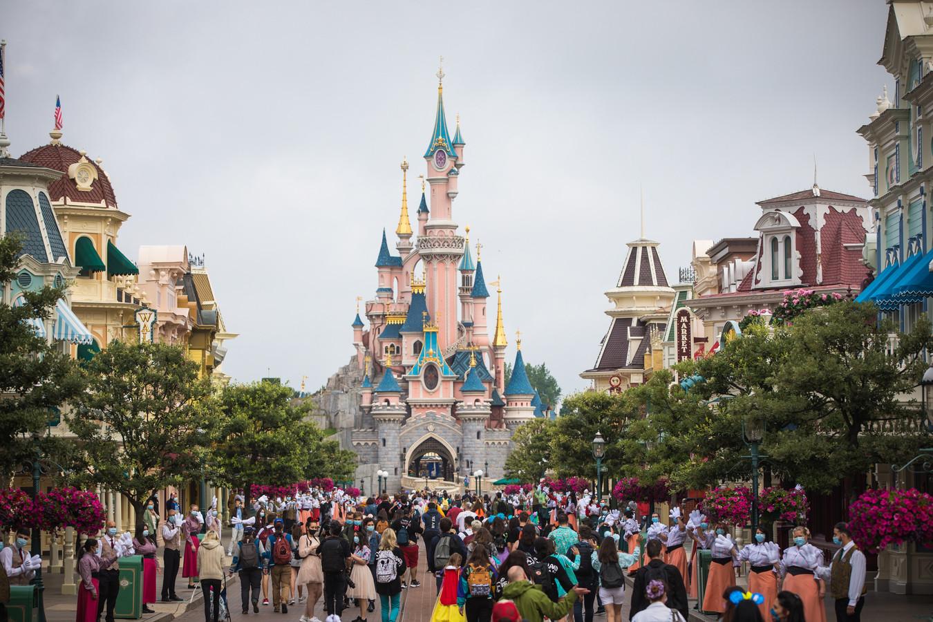 Sfeerbeeld van Disneyland Paris.