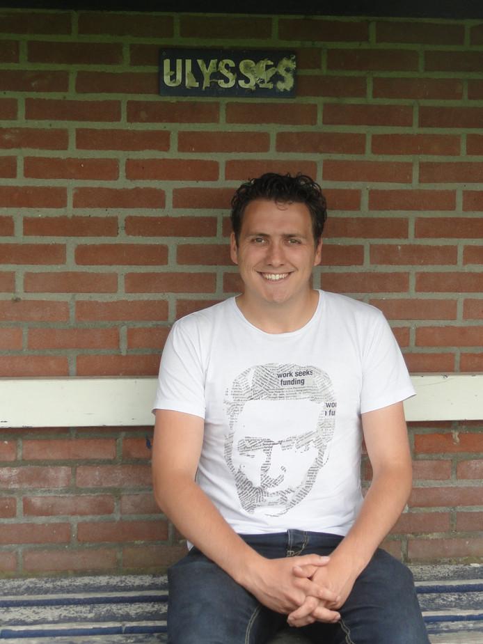Ivo Mulders, de nieuwe voorzitter van Ulysses.