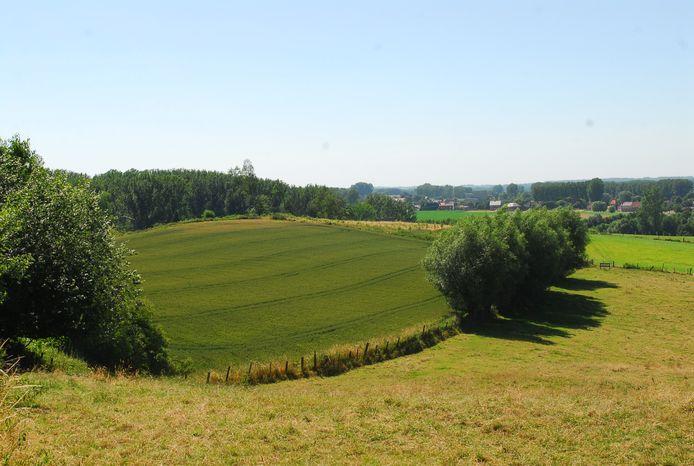 Een sfeerbeeld uit de groene, heuvelachtige rand rond Brussel.