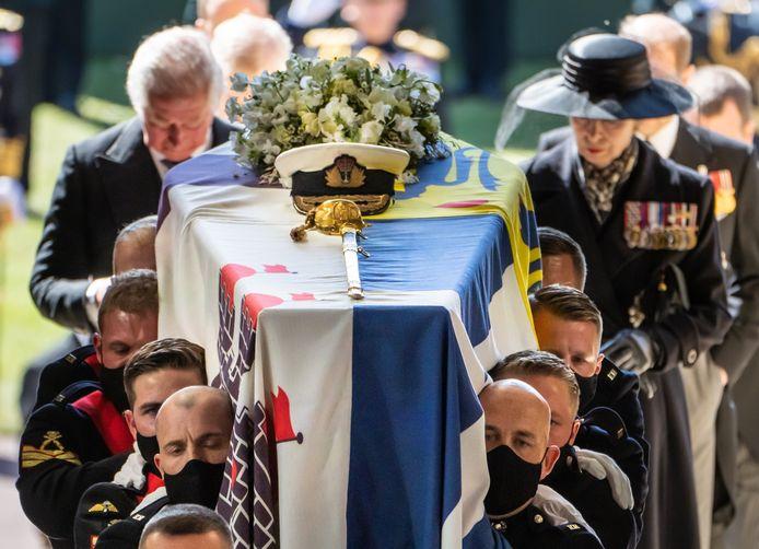 Les obsèques du prince Philip regardées par plus de 13 millions de téléspectateurs.