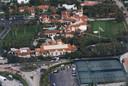 La résidence de Trump à Palm Beach en Floride où il a atterri après avoir quitté la Maison-Blanche.