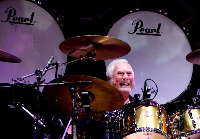 Golden Earring-drummer Cesar Zuiderwijk geselt op 19 april voor de tweede keer de vellen in Het Koelhuis in Zutphen.