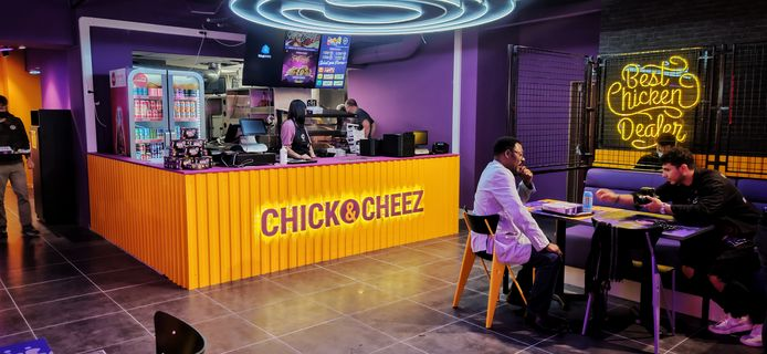 Restaurant Chick&Cheez, à Liège.