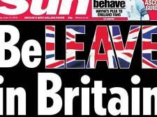 Grootste Britse krant is pro-Brexit
