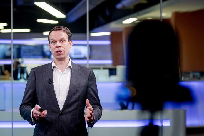 Hoofdeconoom Peter Hein van Mulligen van het Centraal Bureau voor de Statistiek.