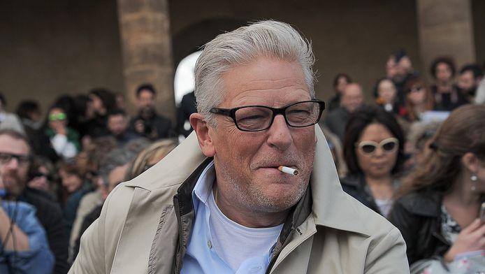 L'artiste Jan Fabre à Florence, en Italie.