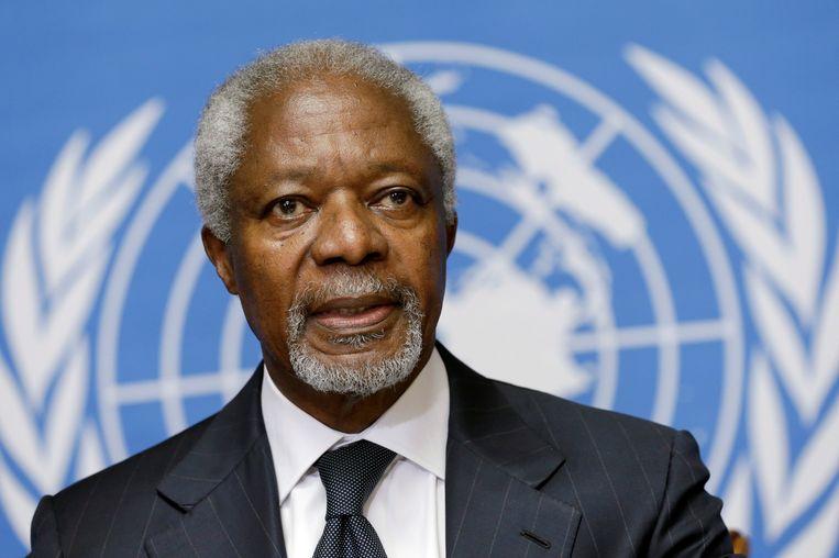 Kofi Annan. Beeld