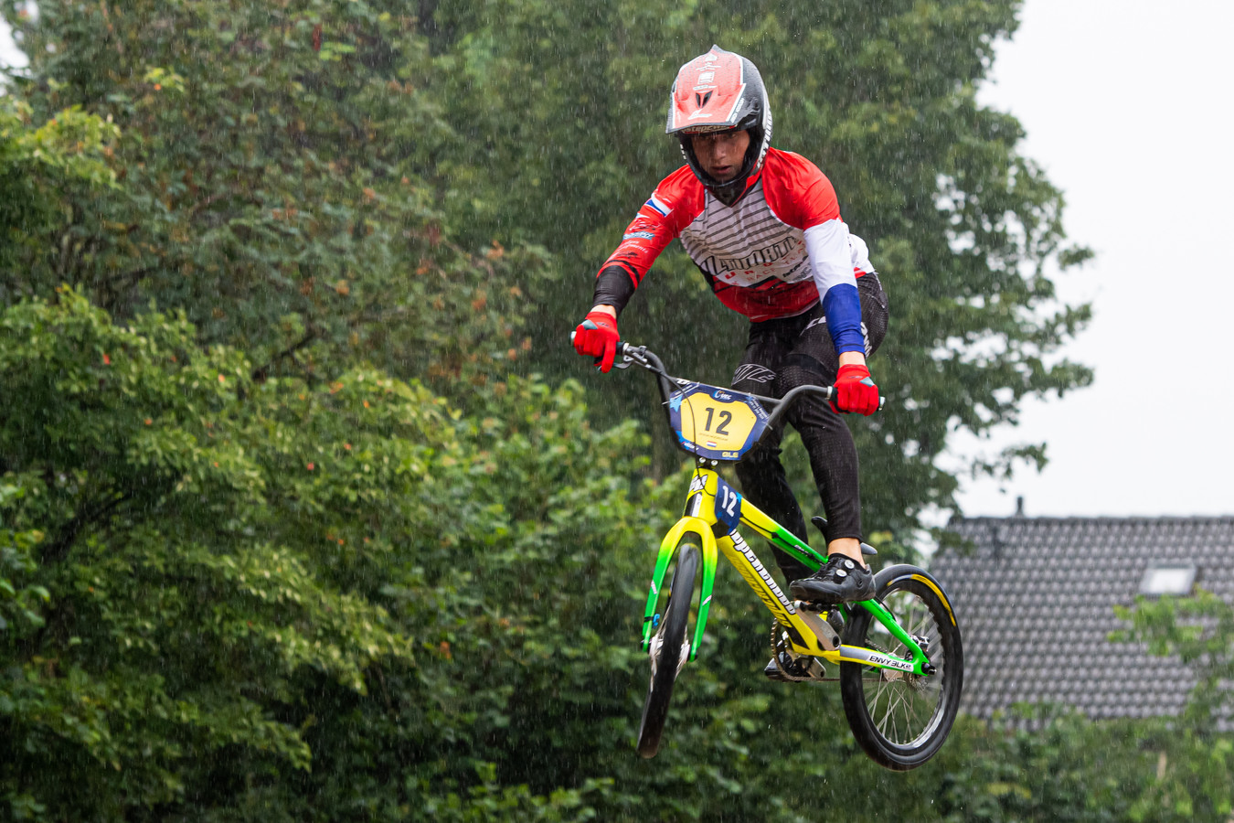 BMX'er Jason Noordam.