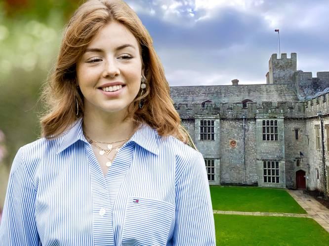 Met vier op de kamer en een avondklok: ook Nederlandse Alexia trekt naar 'prinsessenschool' in Wales