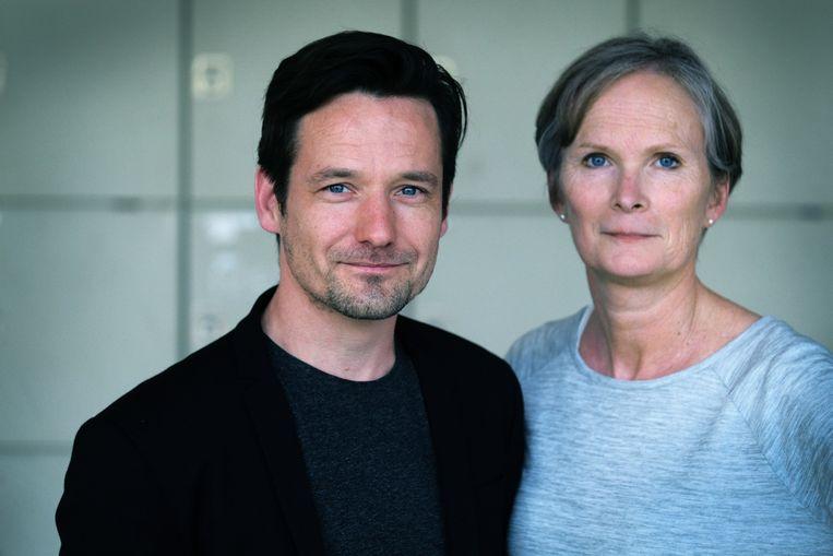 Directeur Bram Wellens en adjunct-directeur Ann Burm: