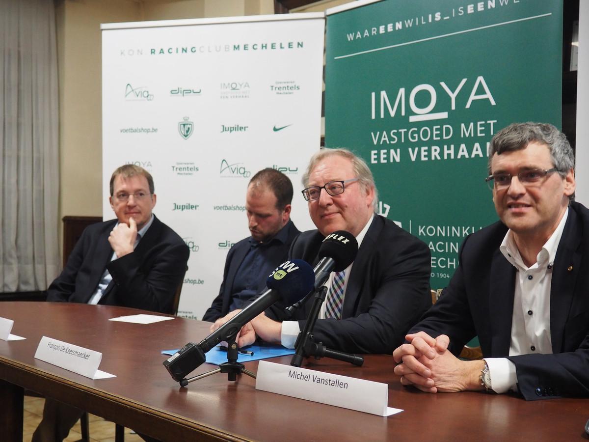 Koen Van Exem, Nick Van Reydt, François De Keersmacker en Michel Vanstallen