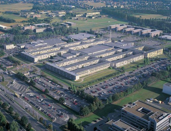 De voormalige NAVO-site in Evere.